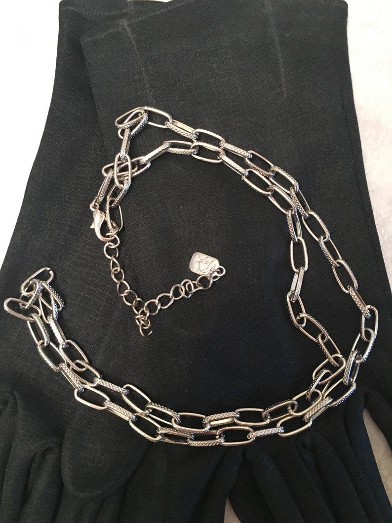 ed87f5510159 FIRMADO Yousi collar collar de diseñador Yousi plata