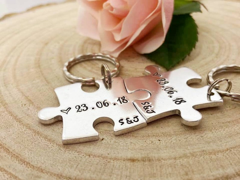 Couples keyrings
