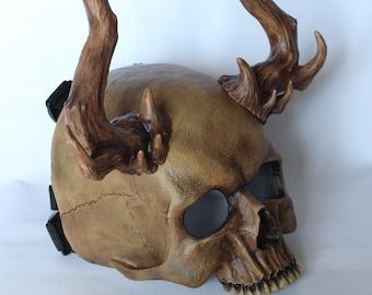 Skull half mask (2in1)