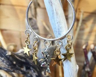 Stardust Hoop Earrings