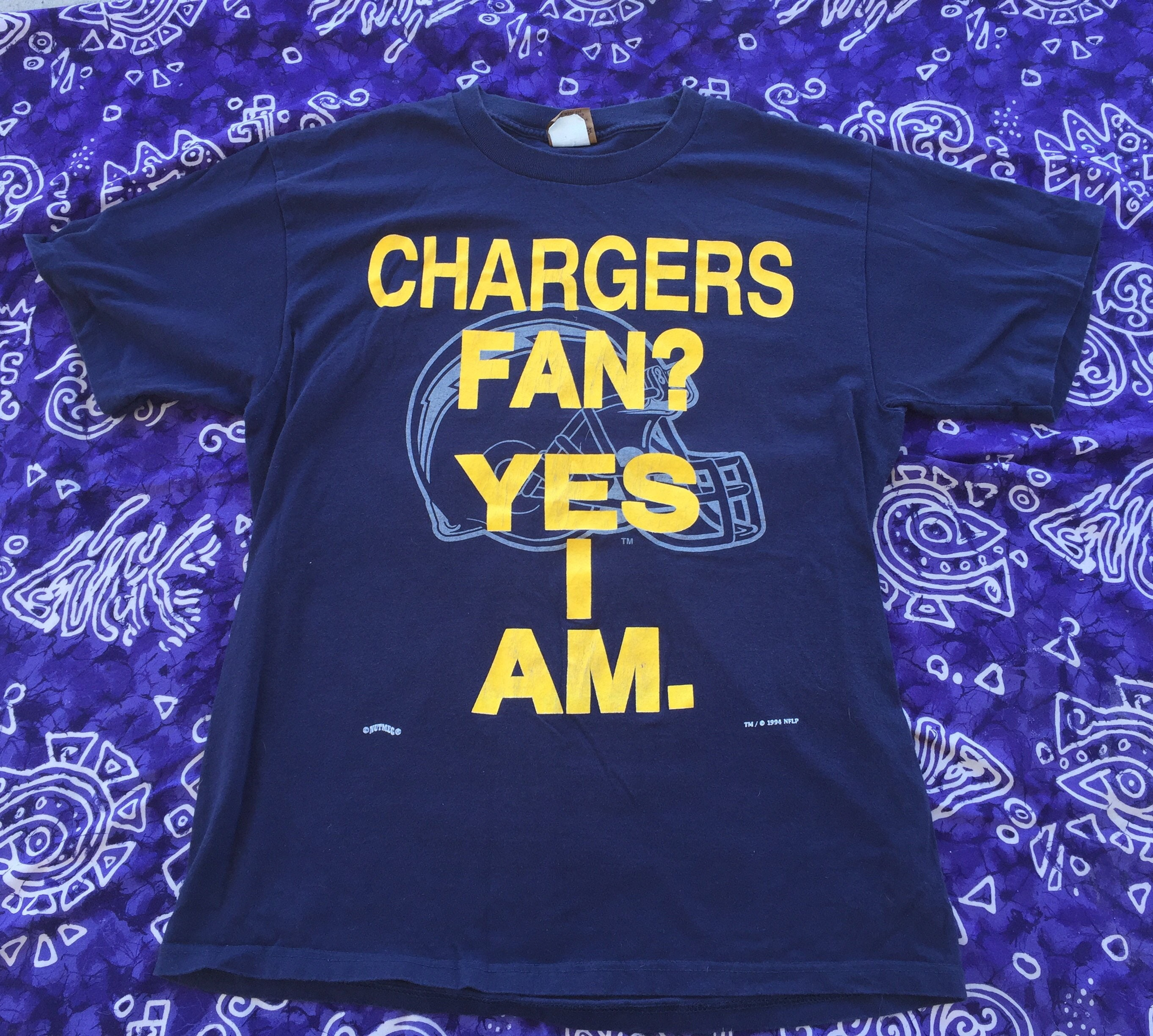 18f3f0f7c 1994 NFL San Diego Chargers Shirt