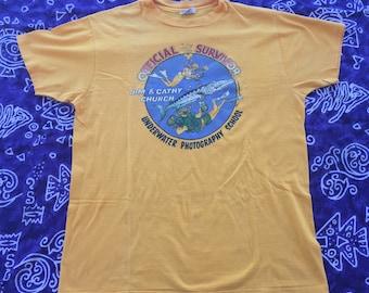1979, Underwater Photography School Official Survivor Shirt