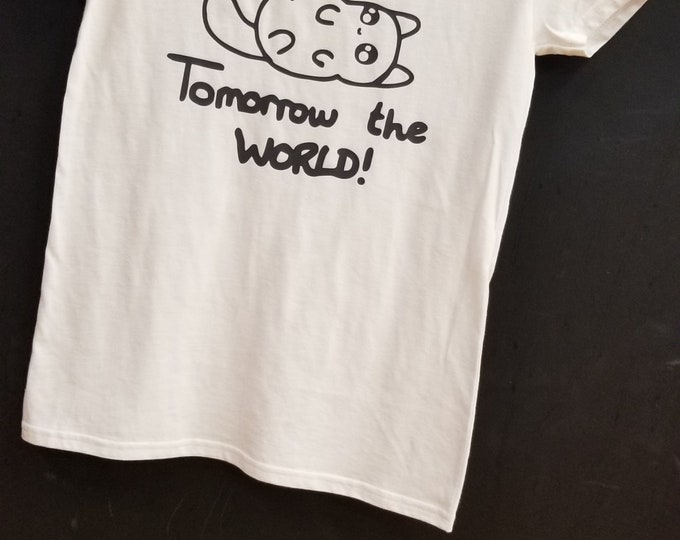 Today a nap, tomorrow the world ! Women T shirt