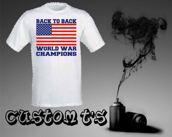 America World War Champions t shirt