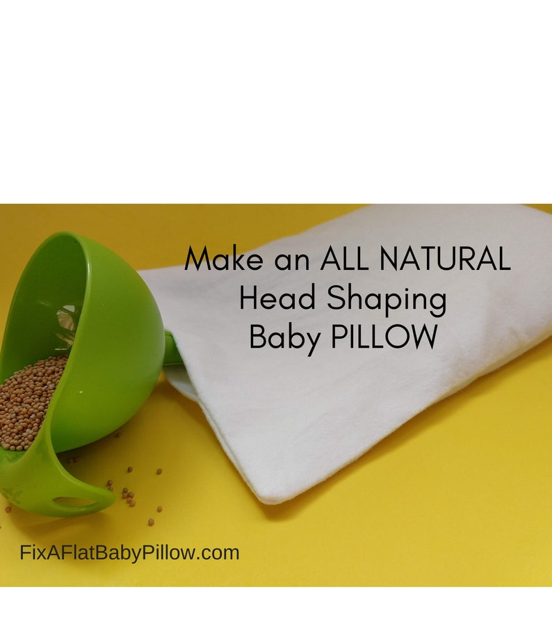 Pillow Form EMPTY For DIYers To Fill w/ Seeds Or Grain For image 0