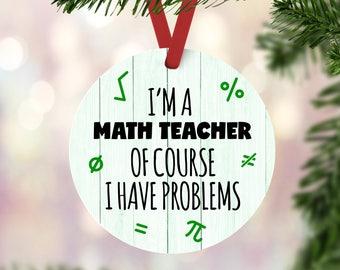 Math ornament | Etsy