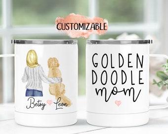 Dog Owner Gift Details about  /Personalized Dalmatian Mom Dog Mom Travel Mug Dog Mommy Gifts