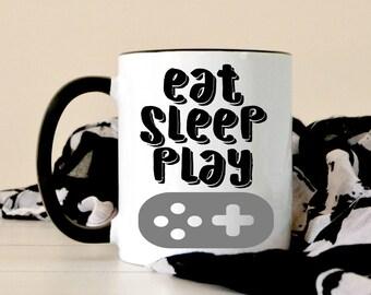 Gamer Coffee Mug - Video Games Coffee Mug - Cute Mug - Gifts Under 20 - Gift For Dad - Gift For Mom