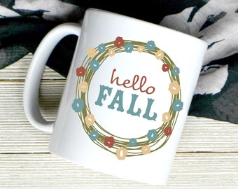 Happy Fall Coffee Mug - Fall Mug