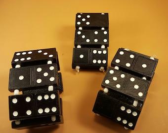Wood Domino Bracelets