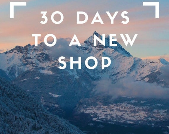 30 Days to Improve your Shop WEBINAR VERSION Starts October 7th