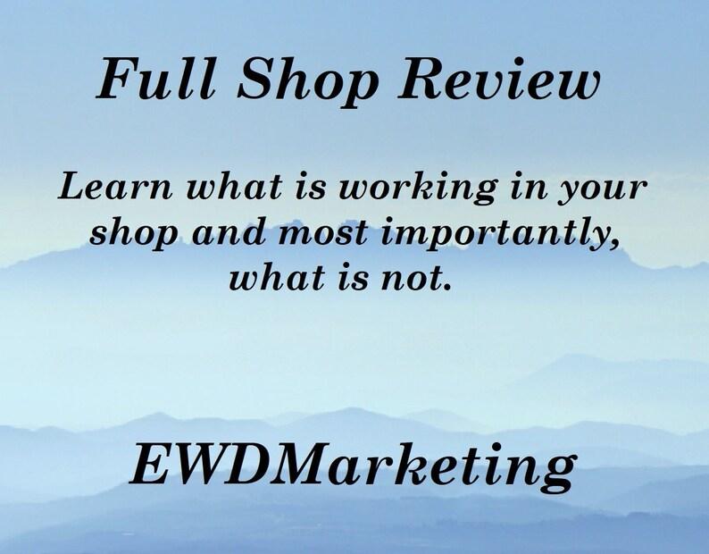 Etsy Shop Critique SEO help Shop review Etsy shop analysis image 0