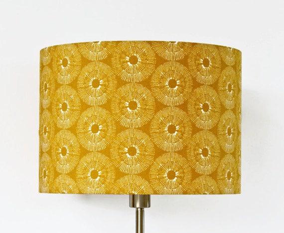 Kwantum Lampen Plafond : Lampenkap geel wit kwantum loran geel mosterdgeel goud etsy