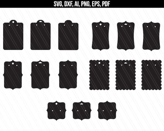 Earrings Display Cards Svg Earring Display Svg Earrings Etsy