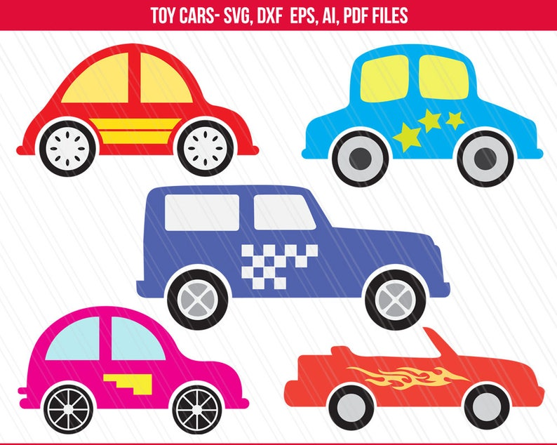 Car Svg Toy Car Svg Toy Car Clipart For Kids Tshirt Toys Etsy