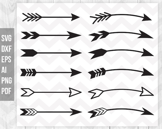 Arrow svg Arrow clipart Arrow vector Arrow design clip art ...