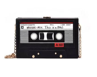 Mixtape crossbody bag