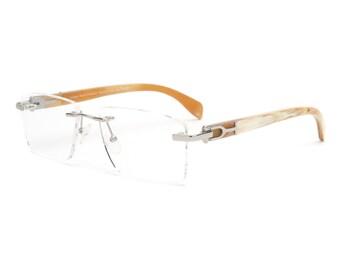 880a0b0d7d Genuine White Buffalo Horn Glasses