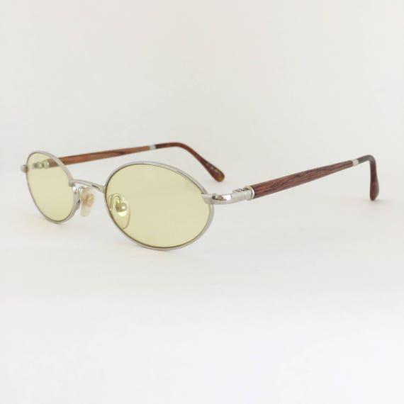 4b76ead698 Pol Gaspard Vintage Wood Frames Gaspard Sunglasses Silver