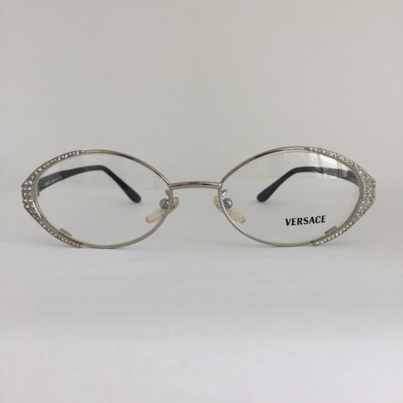 Gianni Versace M40 26M Vintage Eyeglasses Vintage Frames   Etsy