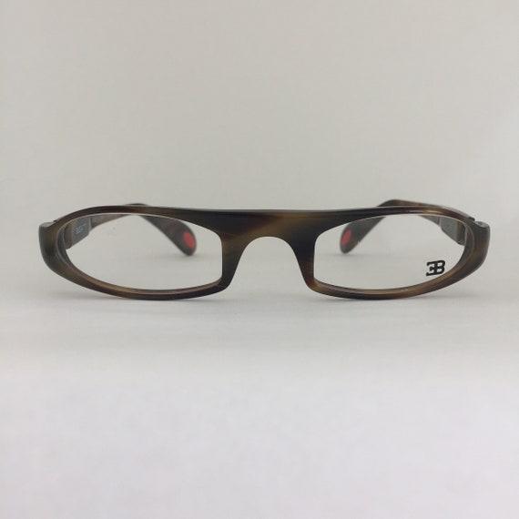 Bugatti odotype 329-32 vintage eye glasses frames Hand made | Etsy