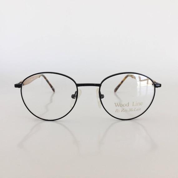 Wood Frame Glasses Vintage Frames Vintage Eyeglasses