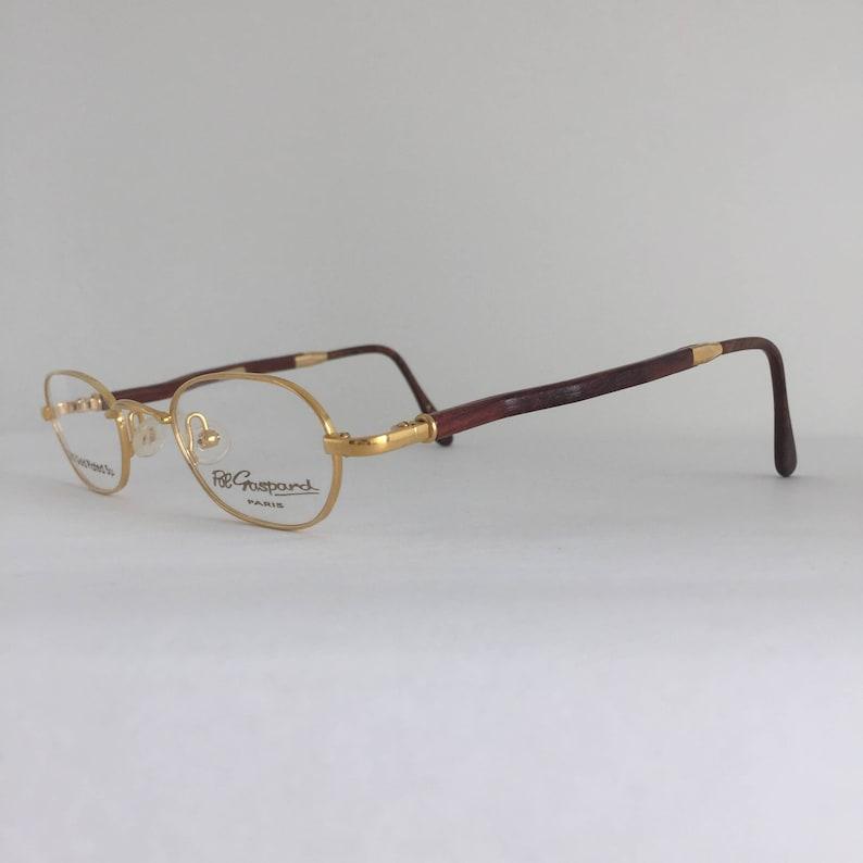 d88b5110bcee Gaspard Vintage Frames Pol Gaspard Eyewear 22kt Gold Plated