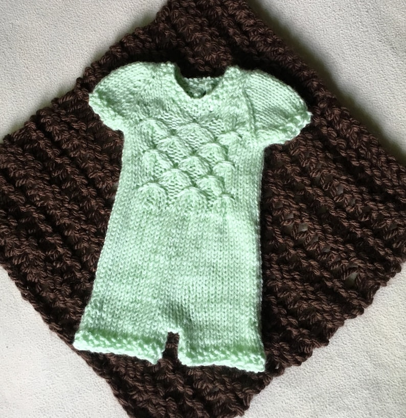 PDF Knitting Pattern Photo Booth Props Baby Pattern Romper ...