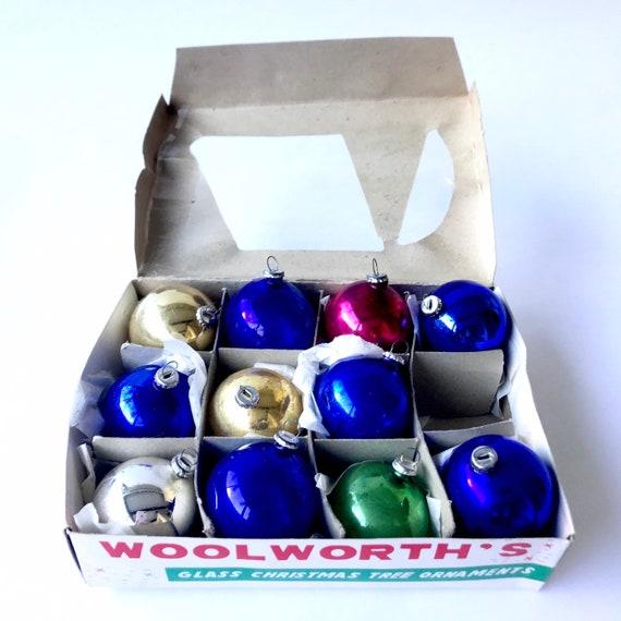 Christmas Ornaments // Vintage Woolworth