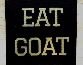 Eat Goat|Refrigerator Magnet|Beat Navy