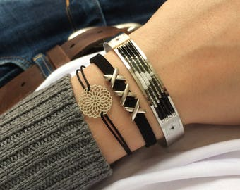 Bracelet Silver Stainless Steel