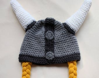 ade2df66175 Viking Hat and Braids