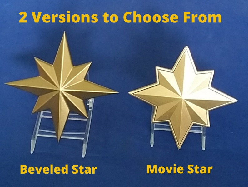 Captain Marvel (Carol Danvers) Inspired Chest Star