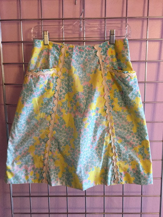 1960s Lilly Pulitzer Skirt