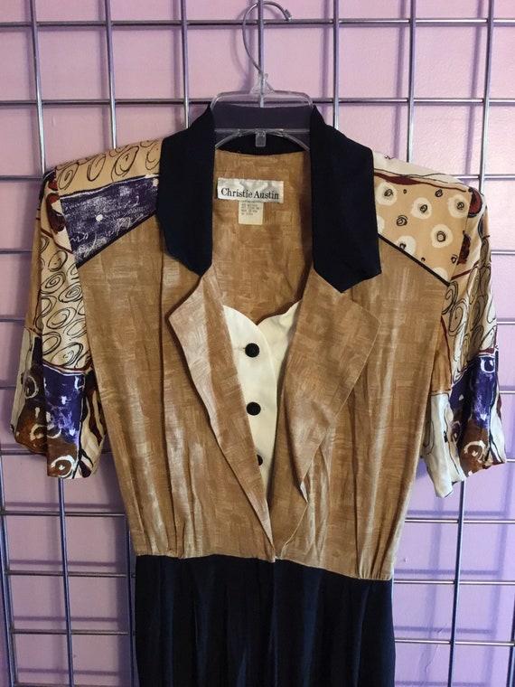 1980s one piece pant suit