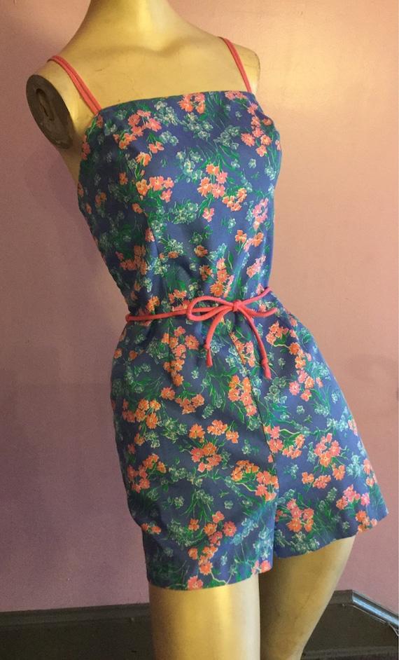 1960s Lilac Playsuit