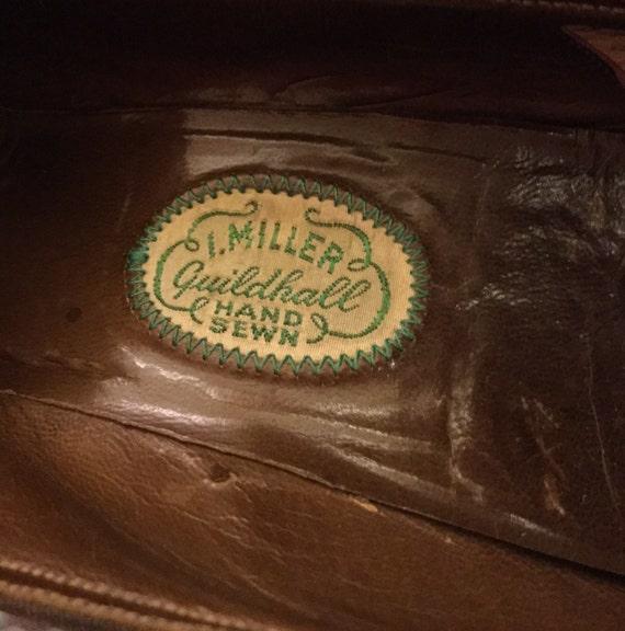 escarpins marron des des des années 1930. 47fe38