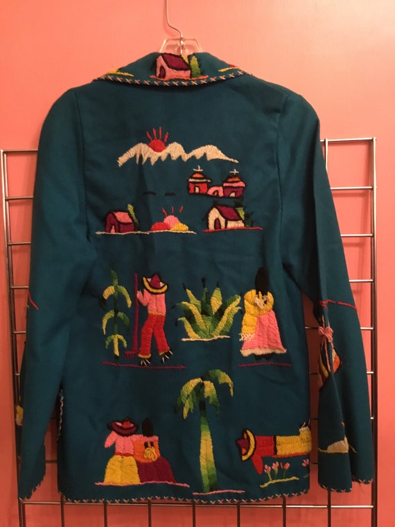 Perfect Mexican souvenir Embroidered Jacket