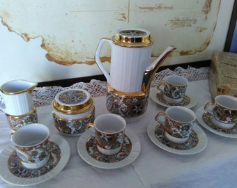 Vintage Limoges coffee set