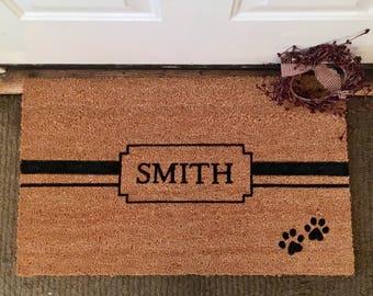 Personalized Door Mat ...