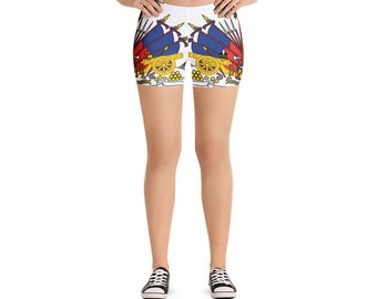 All Over Coat of Arms Shorts