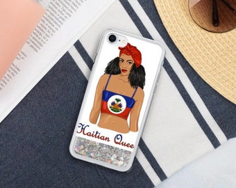 Haitian Queen iPhone Case