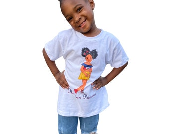 Haitian Princess Girl's T-Shirt