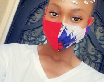 Island Flag Face Mask