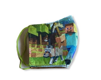 Minecraft  Kids Mask