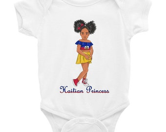 Haitian Princess Infant Bodysuit
