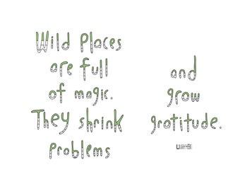 Haiku Art // Wild Places