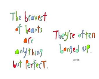 Haiku Art // Bravest of Hearts
