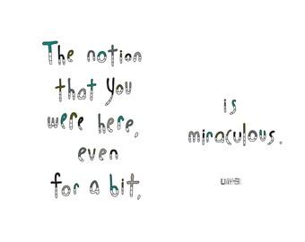 Haiku Art // Miraculous Notion