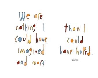 Haiku Art // Nothing Imagined
